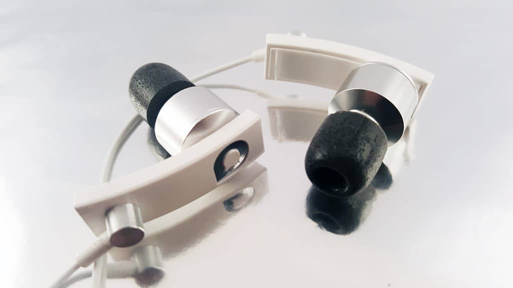 Accutone Pisces BA with foam eartips