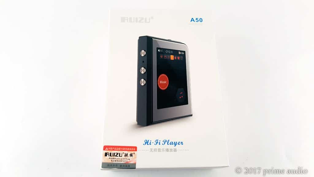 RUIZU A50 mp3 player review