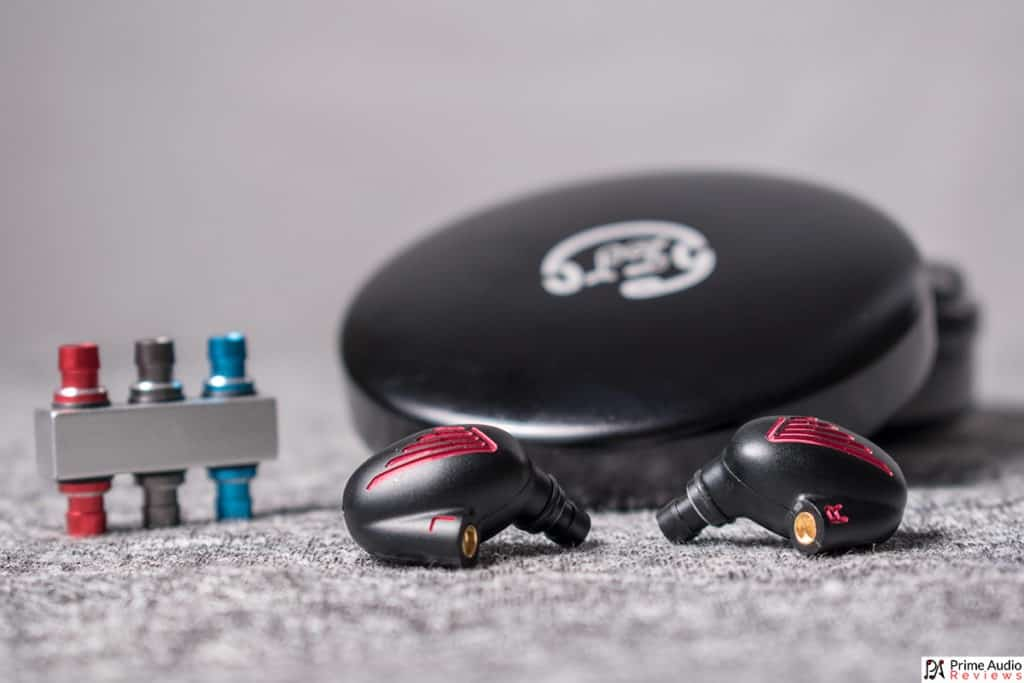 LZ A5 review tin, iem, filters