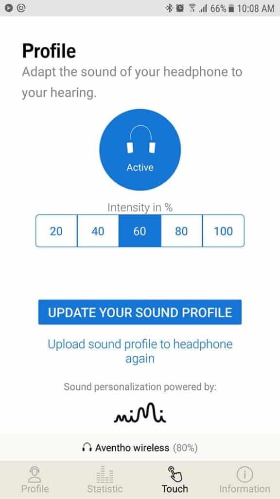 Aventho Wireless MIY app