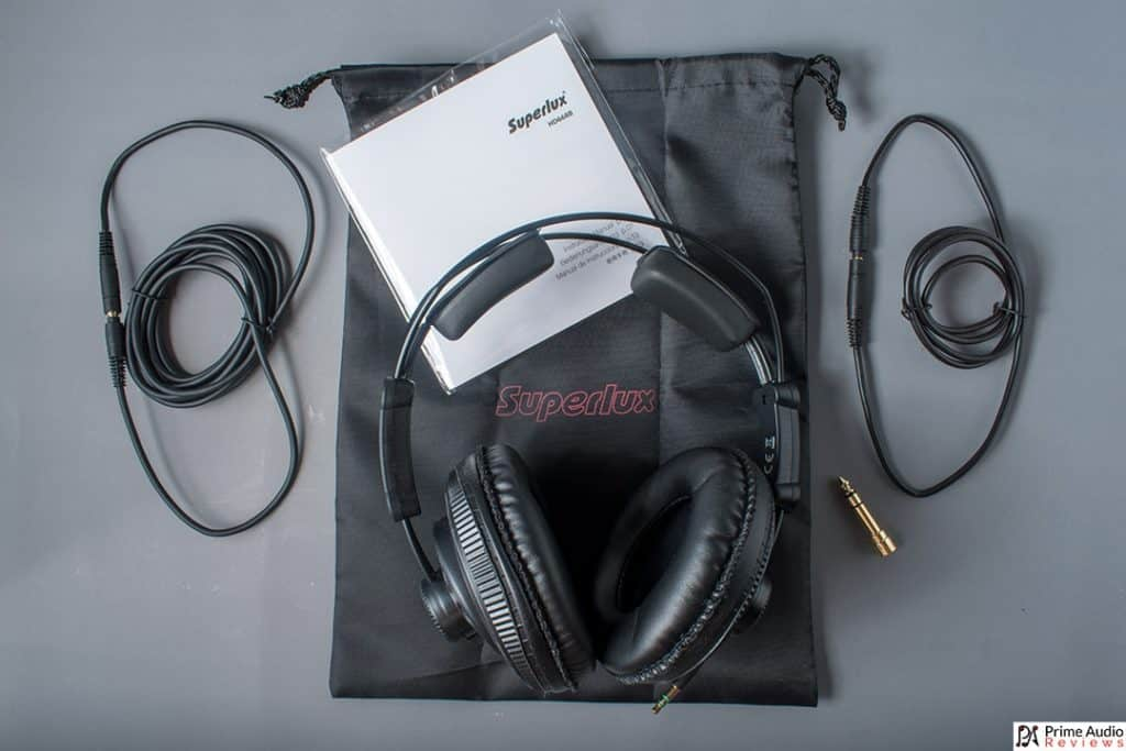 Superlux HD668B accessories