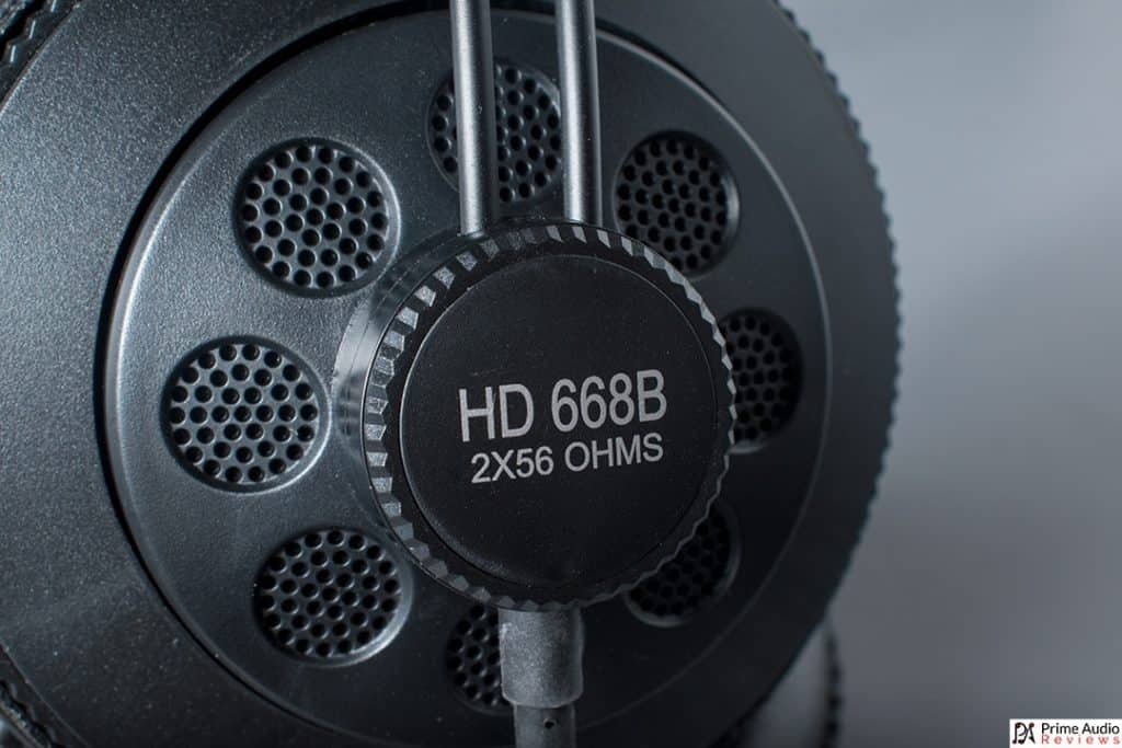 Superlux HD668B earcup
