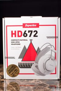 Superlux HD672 box front