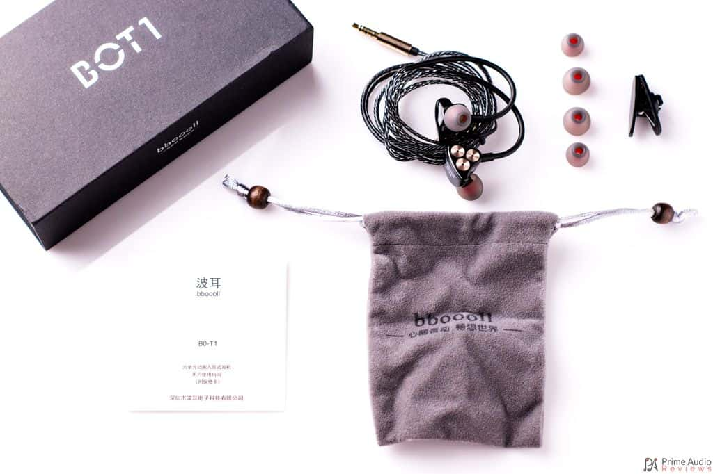 BOT1 earphone accessories