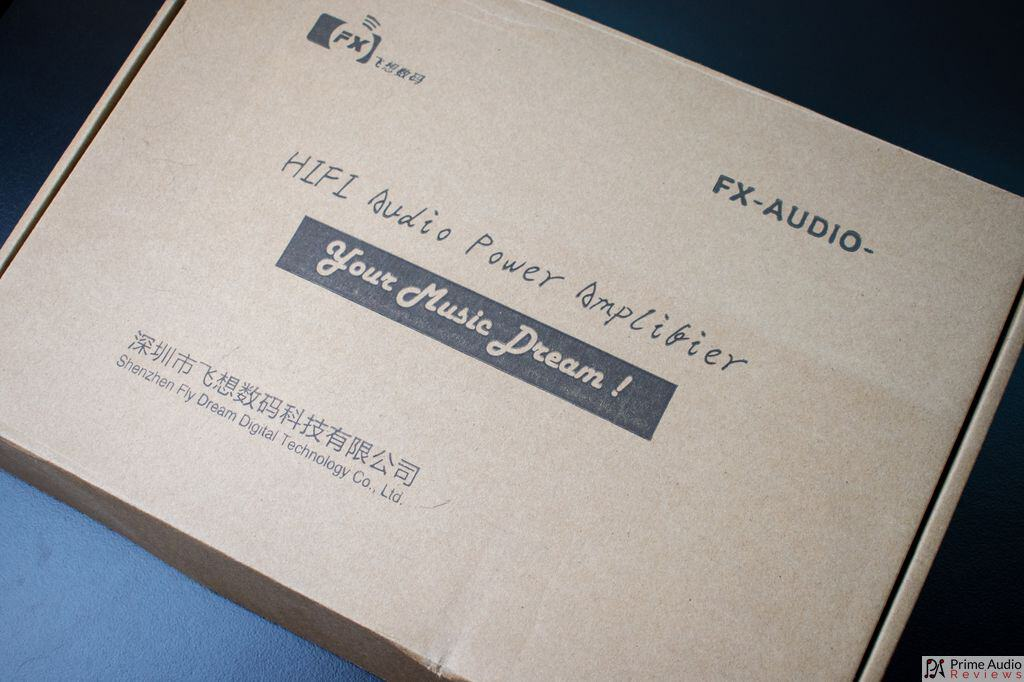 FX-Audio D2160 box