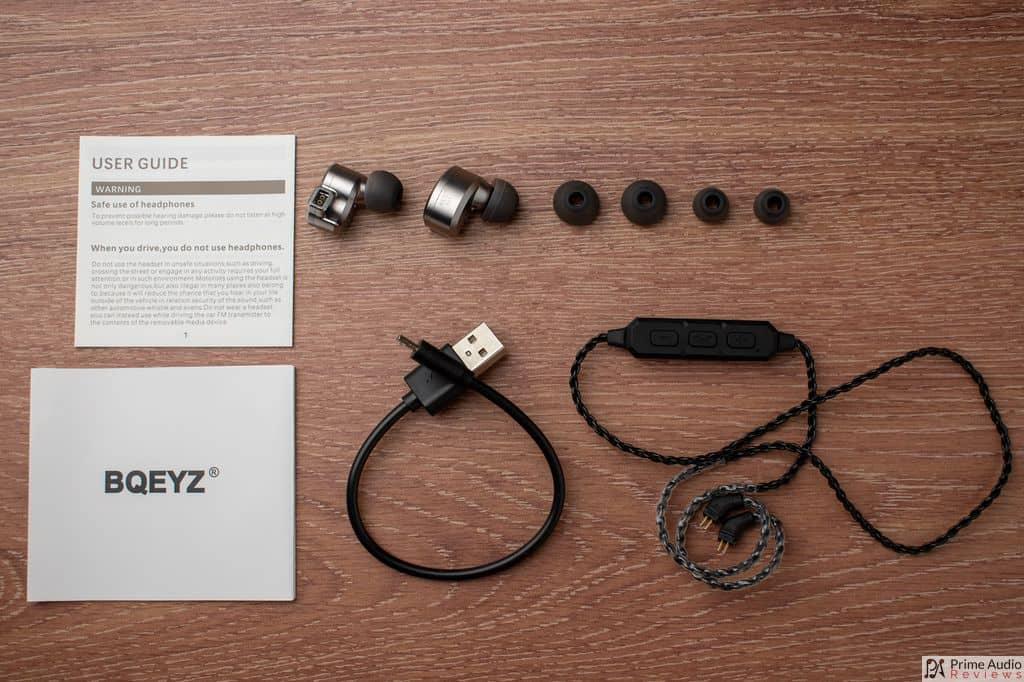 BQEYZ KB1 accessories