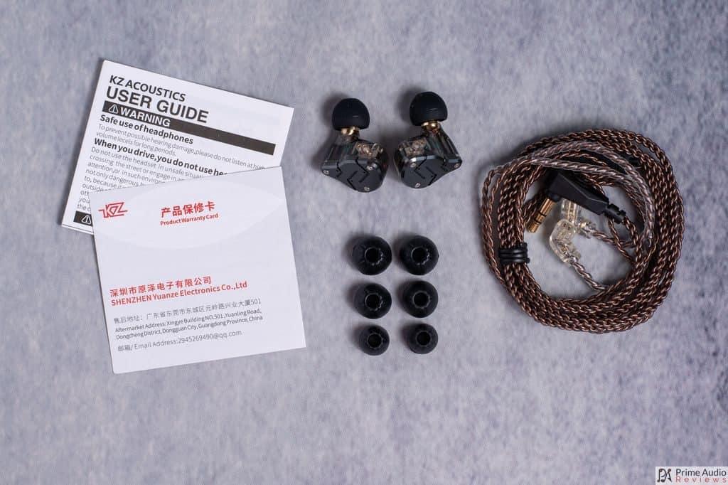 KZ ZSN accessories