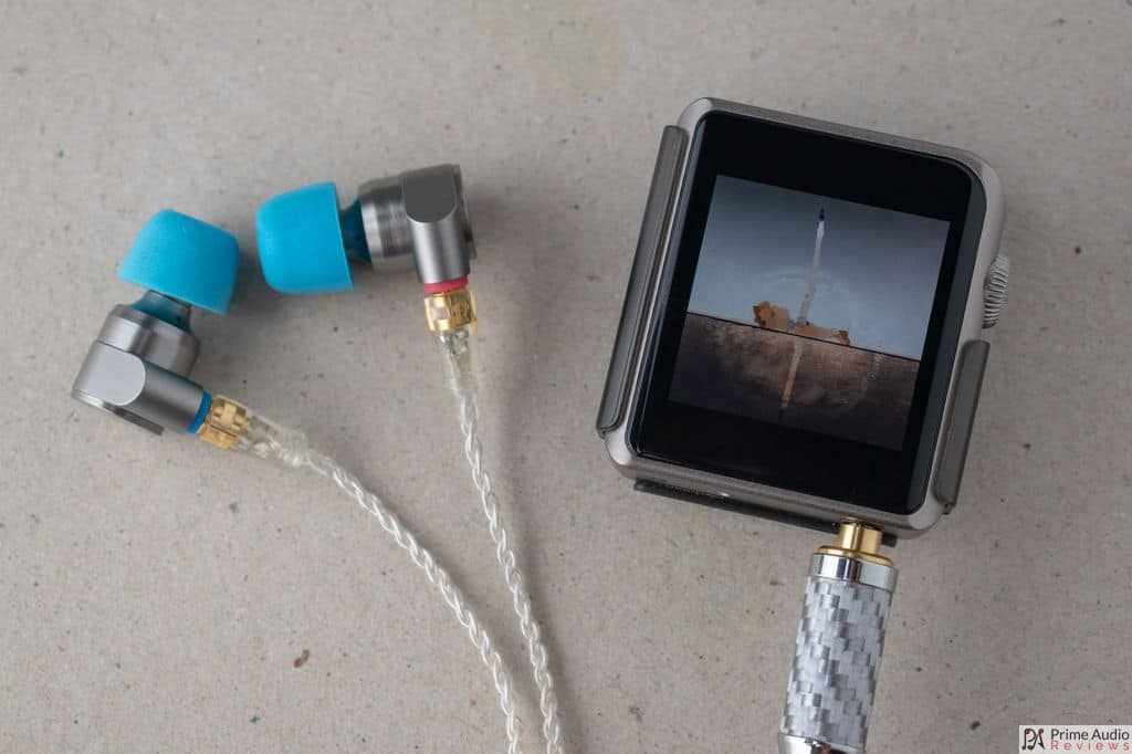 Tin Audio T2 Pro with Shanling M0 DAP