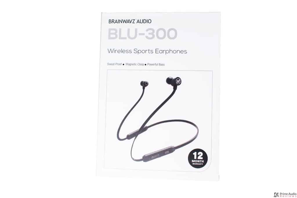 Brainwavz BLU-300 box front