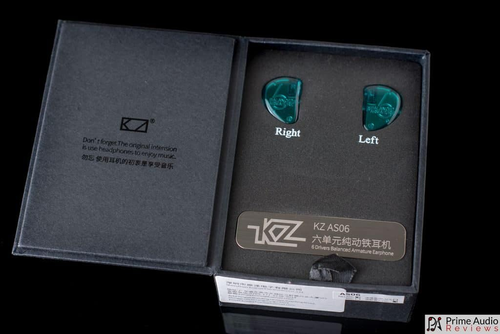 KZ AS06 unboxing