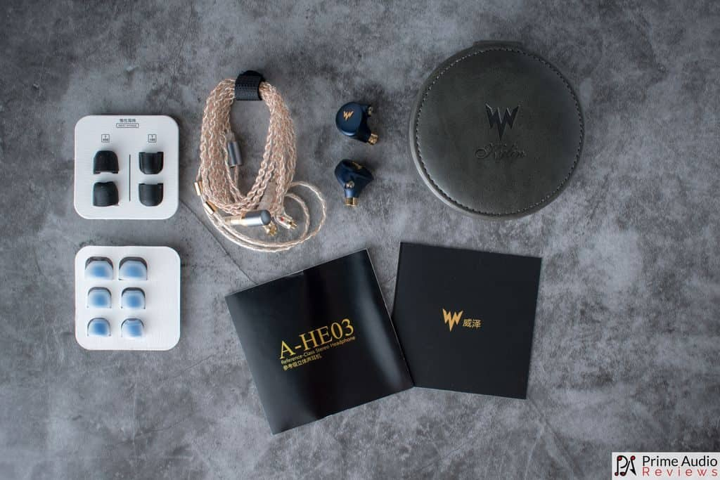 Whizzer Kylin A-HE03 accessories