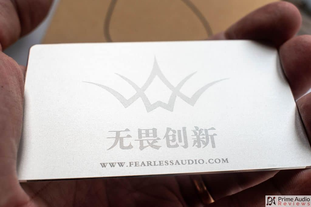 Fearless Audio plaque