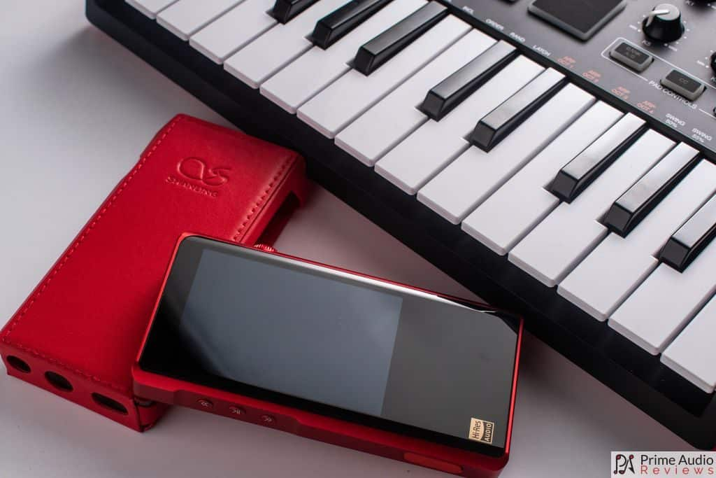 M5s next to case and keyboard