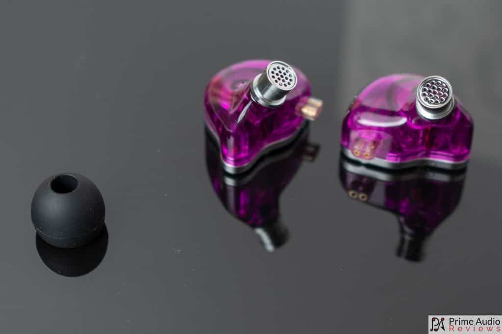 KZ ZSN Pro nozzles and eartip