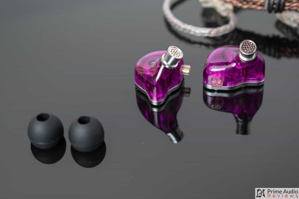 ZSN Pro nozzles, eartips and cable