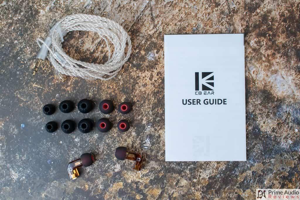 KB Ear F1 accessories
