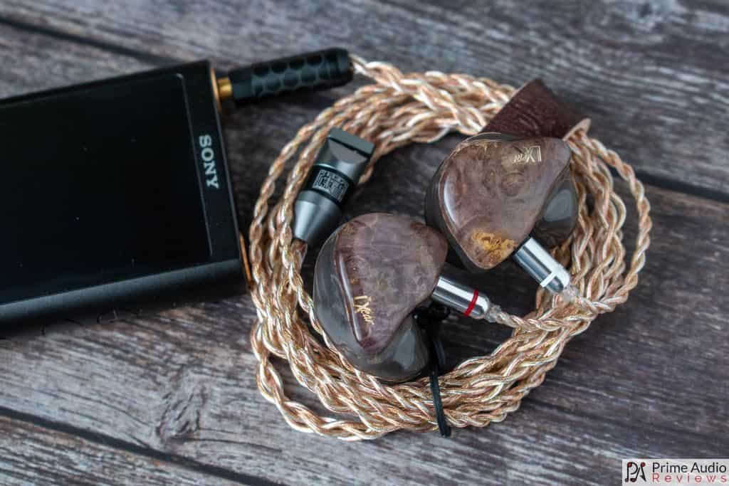 LXear Pluto with Sony DAP and Kimera cable