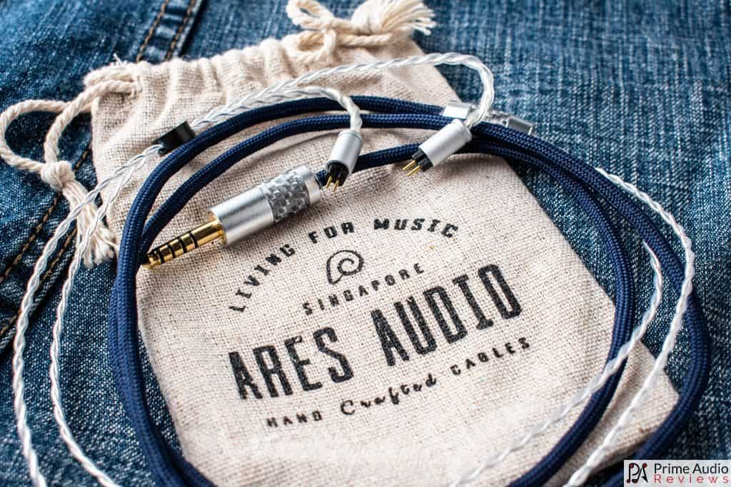 Yuki cable on Ares Audio carry pouch