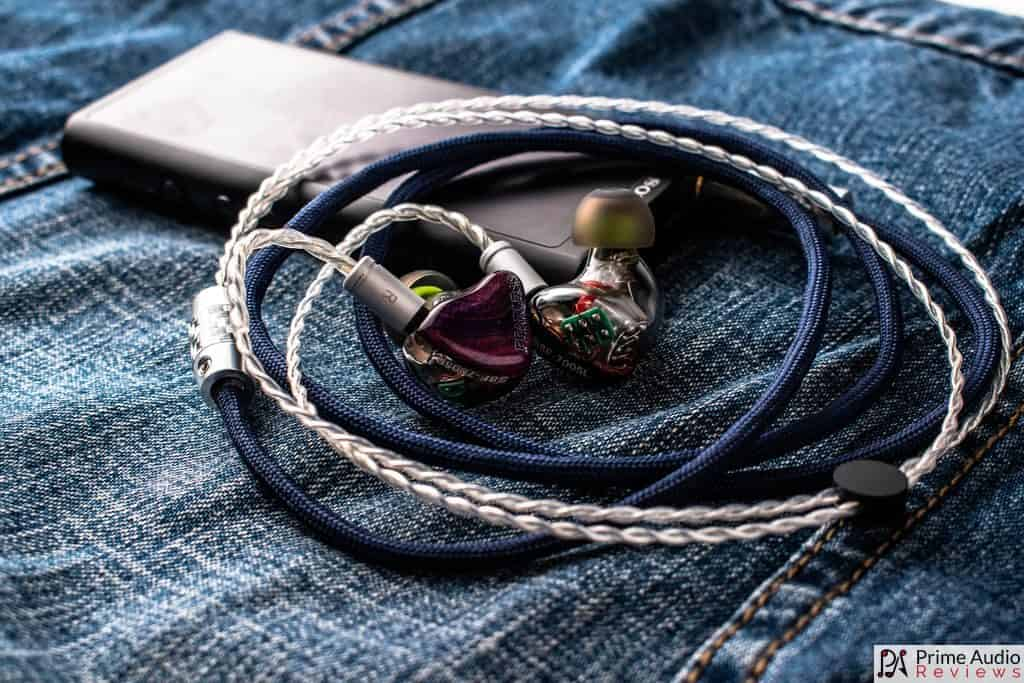 Ares Audio Yuki cable with Sony DAP and Fearless IEM
