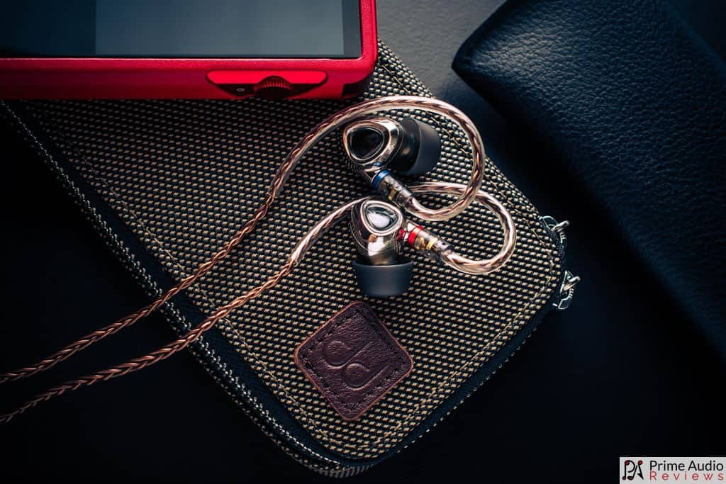 Carrying case with Shanling DAP and IEM
