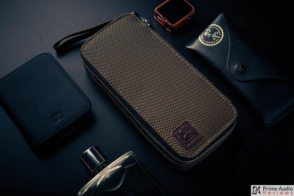 Everyday carry gear with case
