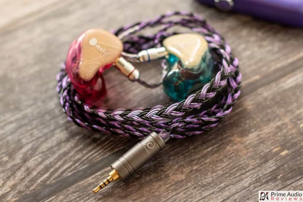 Ares Audio Sakeishi cable with Itsfit Fusion CIEM