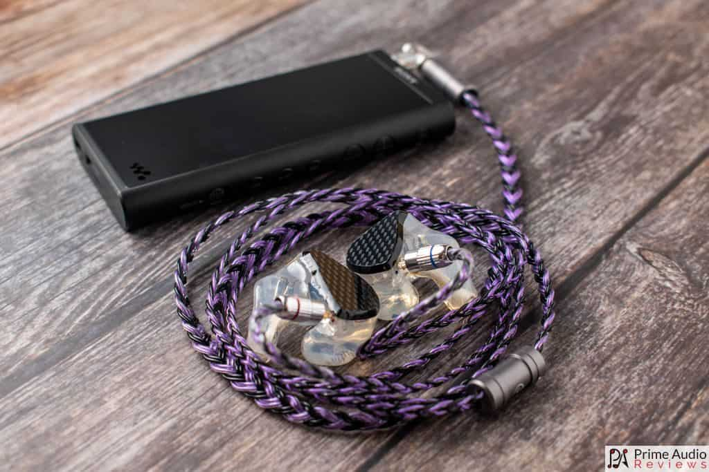 Sakeishi cable with Sony NW-ZX300 DAP