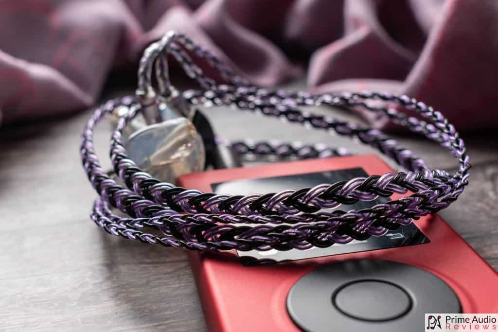 Ares Audio Sakeishi cable with Soundaware M2Pro DAP