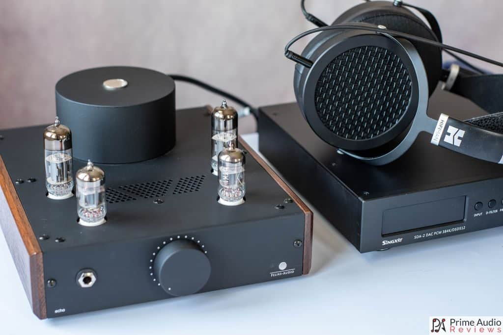 Feliks Audio Echo with Hifiman Sundara headphones.