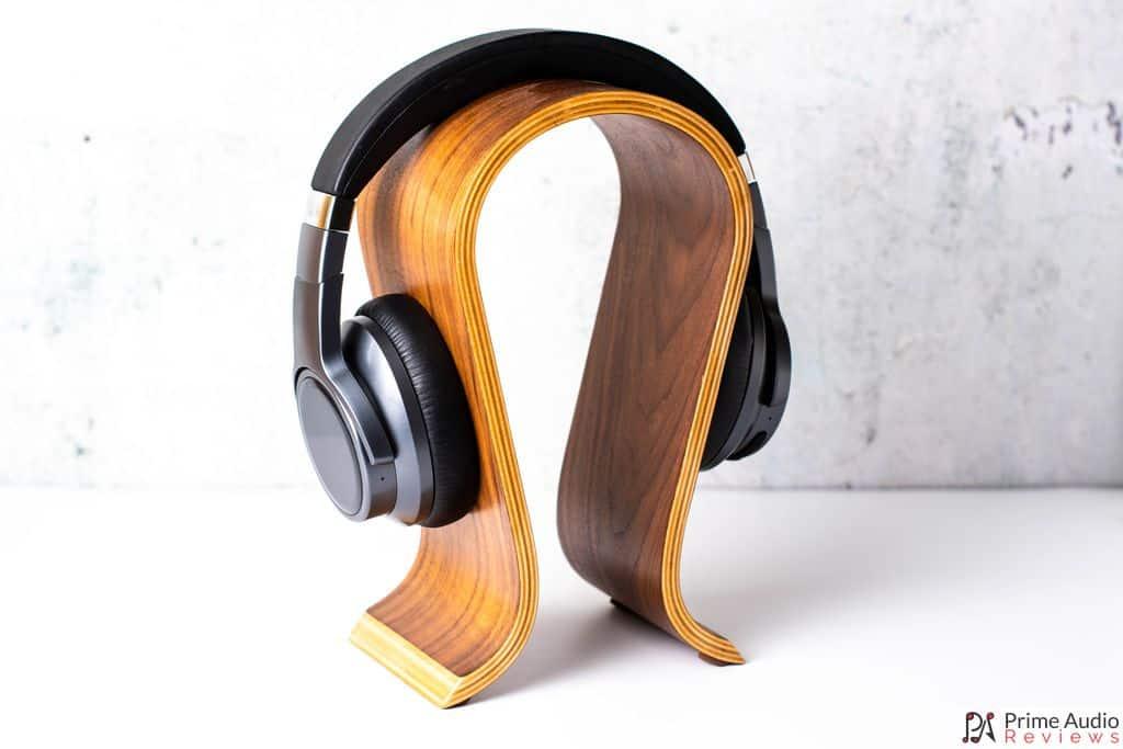 FiiO EH3 NC on headphone stand