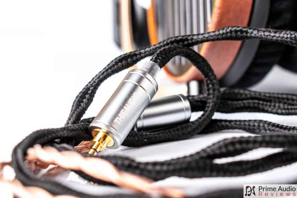 The OFC cable with 2.5mm adapter