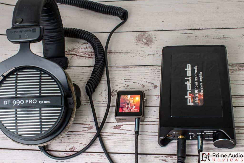 Chimera with Shanling M0 and Beyerdynamic DT 990 Pro