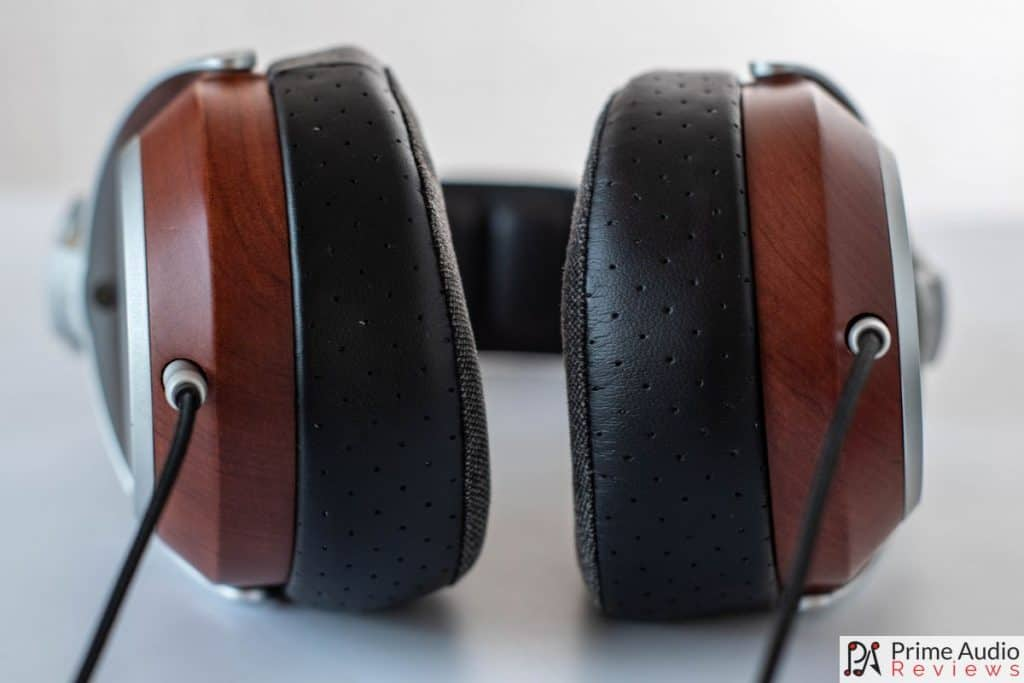 The B20 earpads are thick and lush