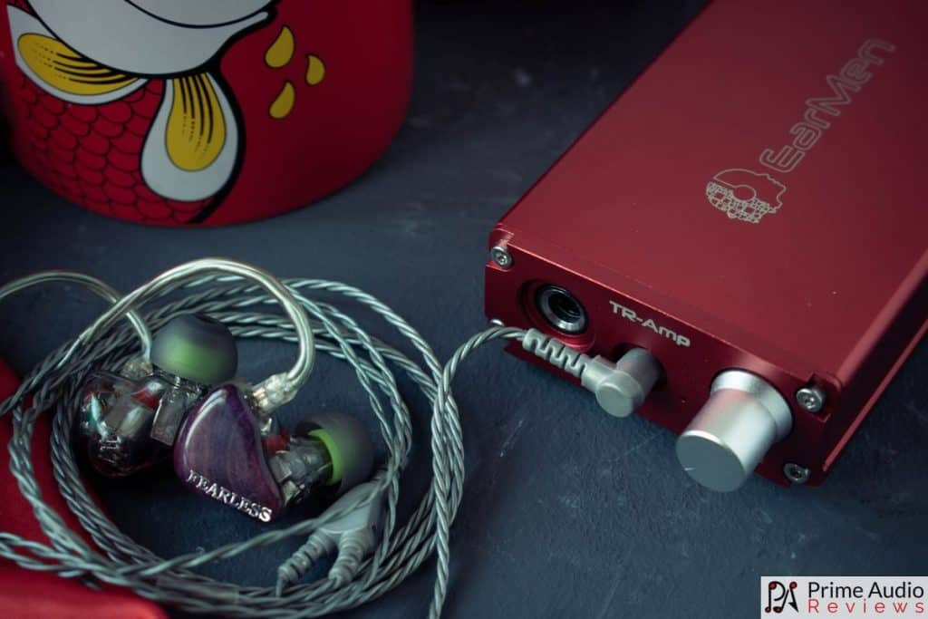 Earmen TR-AMP with Fearless S8F