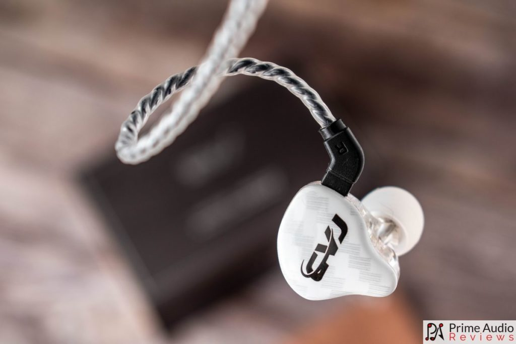 CVJ CSA earpiece and faceplate
