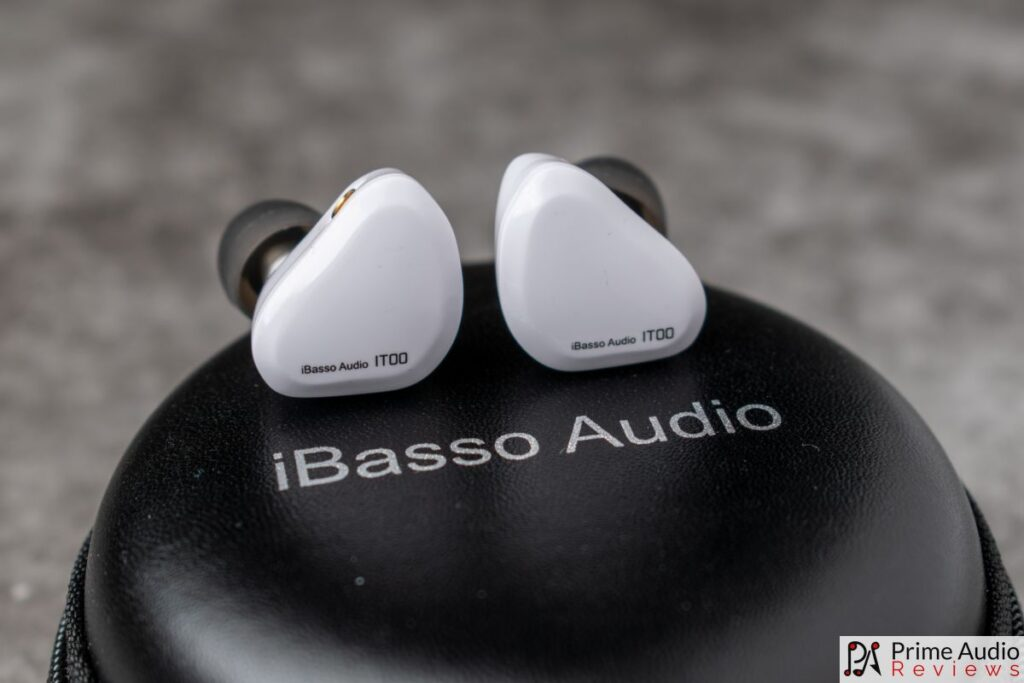 iBasso IT00 faceplates and carrying case