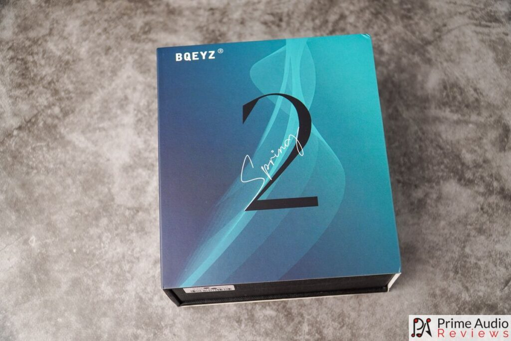 Front of box