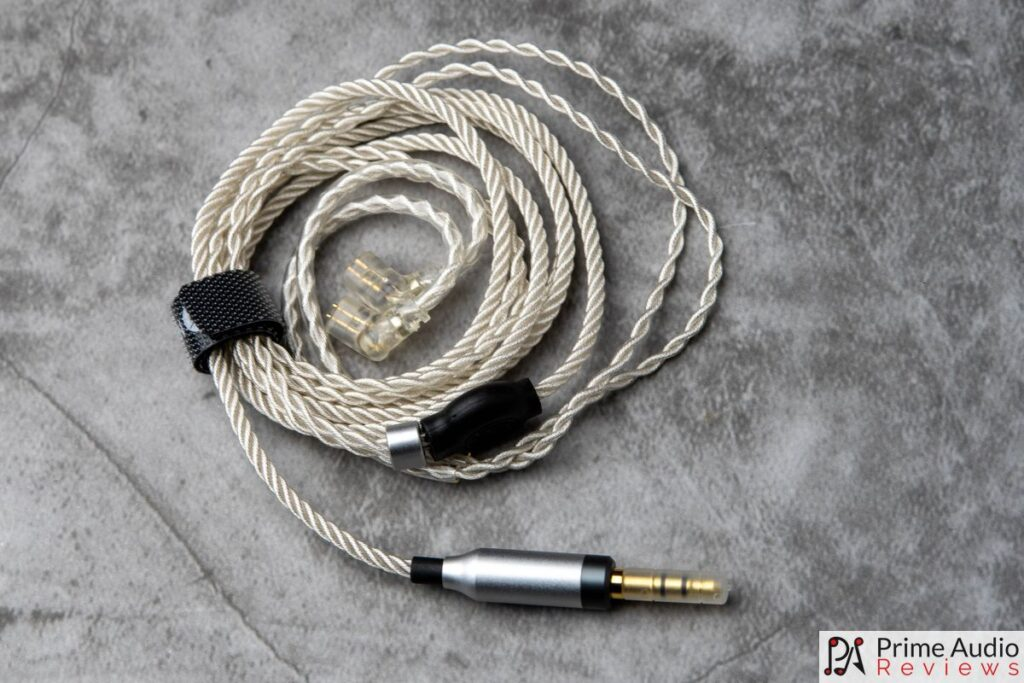 Included silver-plated copper Litz cable