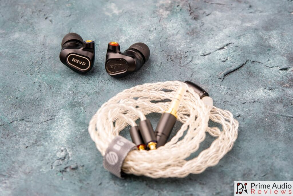 BGVP shells and cable