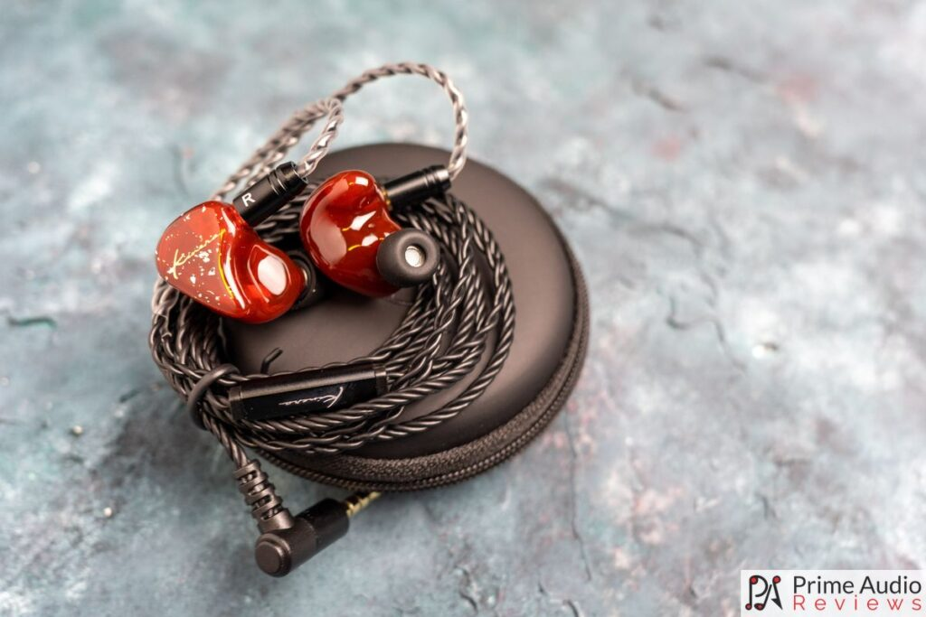 Kinera BD005 Pro with cable and carrying case
