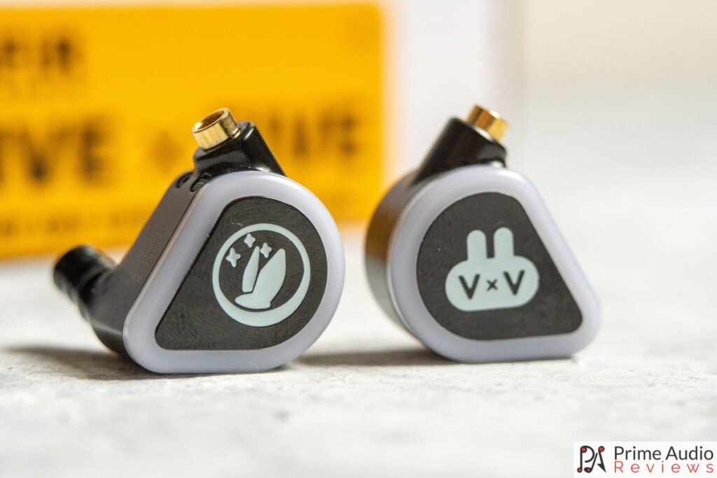 FiR Audio 5x5 faceplates and earpieces