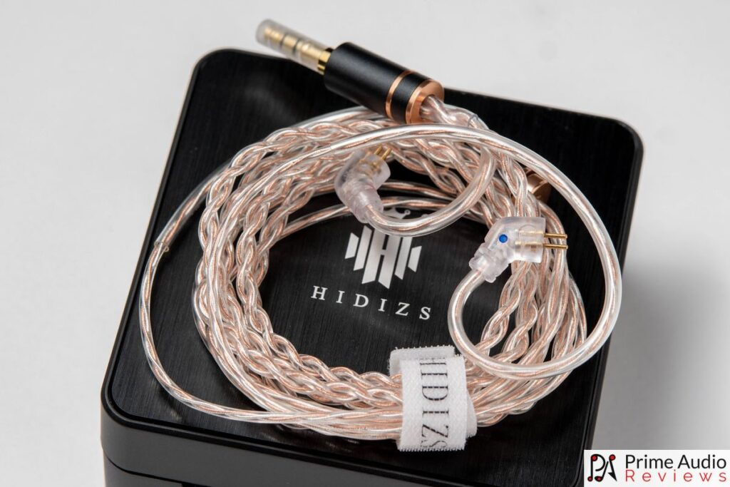 The included silver and OFC copper cable
