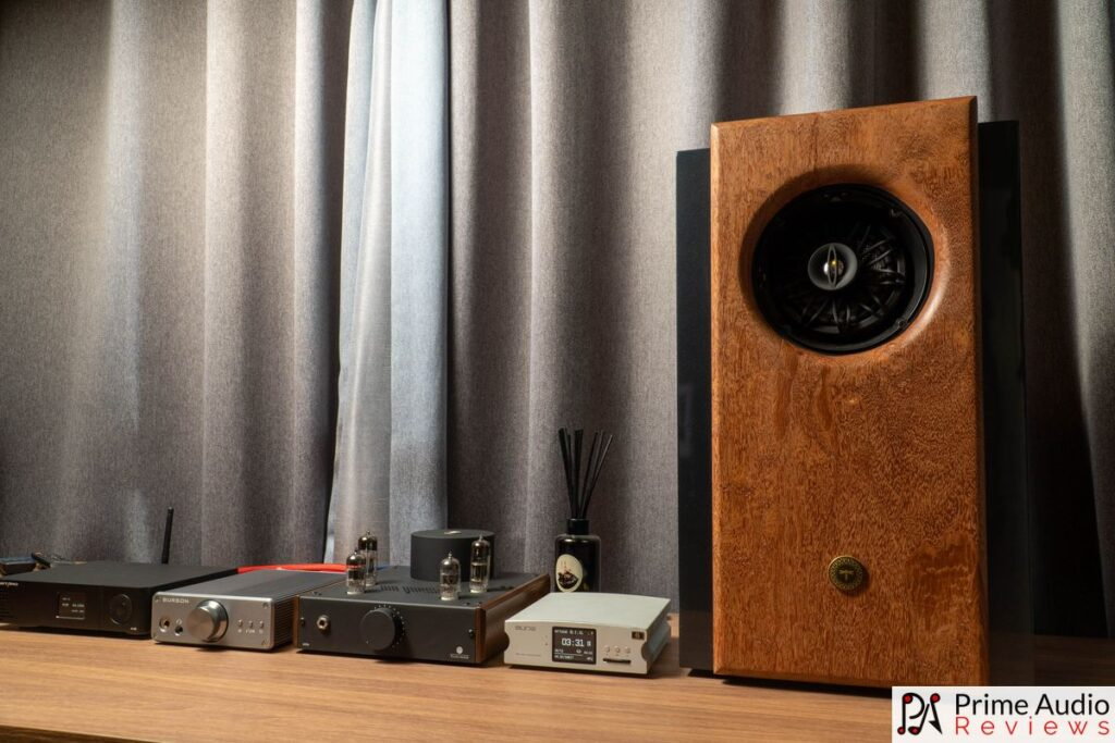 R1 speaker with amp and DAC.