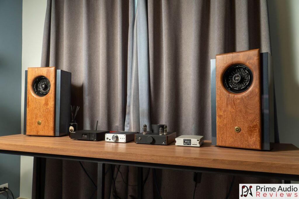 Tombo Audio R1 with Gustard A18, Aune X5s and Burson Audio Funk.