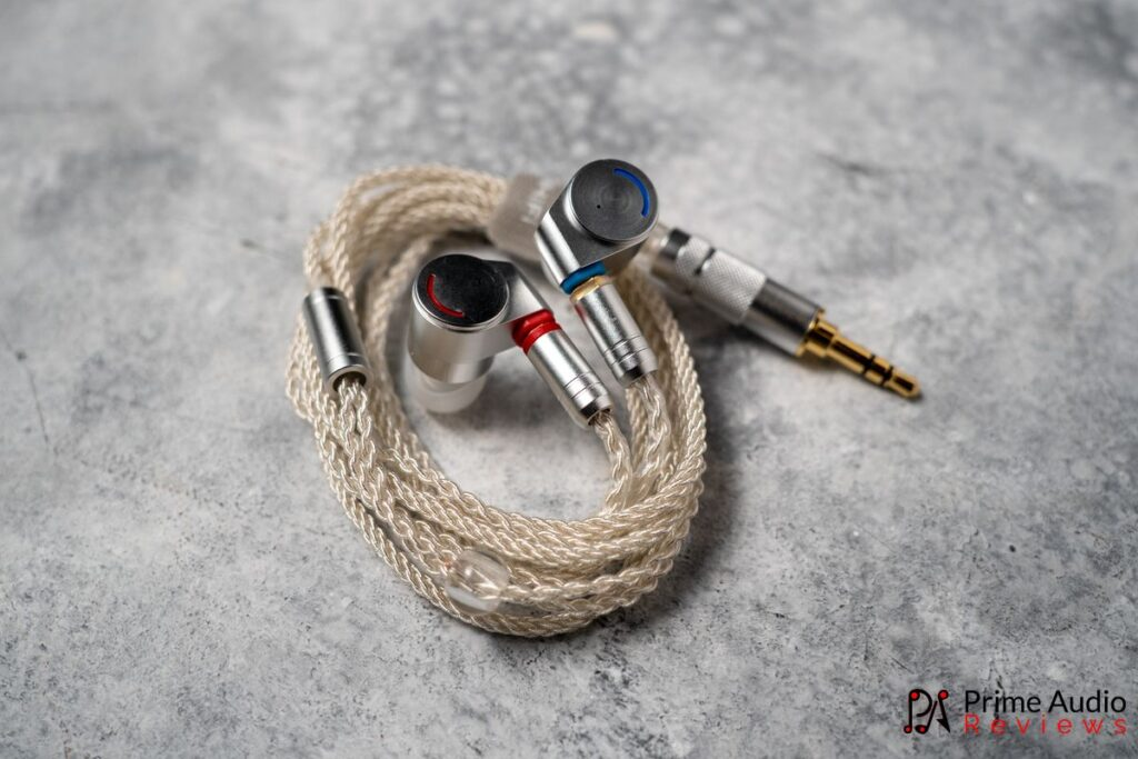 Stock silver-plated copper MMCX cable