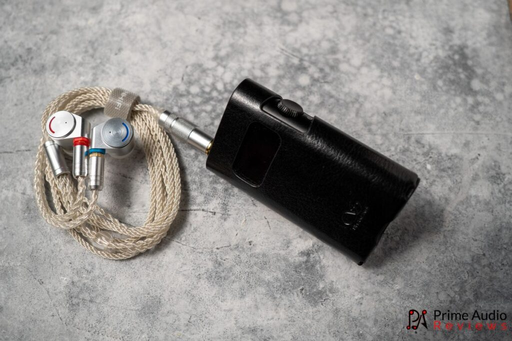 IEMs with Shanling UP5 DAC